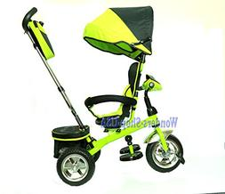 New 3 in 1 Trike Kid Tricycle for Toddler with Adjustable Se