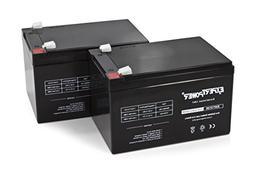 2 Pack ExpertPower 12 Volt 12 Ah Rechargeable Battery    EXP