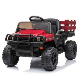 12V Kids Ride on Truck Car Toys Battery Power Wheels for Kid