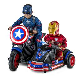 Kid Trax 12-Volt Captain America Motorcycle Ride-On Marvel A