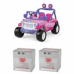 12 volt disney princess jeep ride on