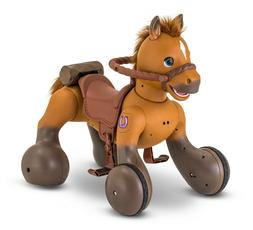 12-Volt Interactive Rideamals Scout Pony Ride-On Toy by Kid