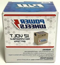 Power Wheels 12 Volt Rechargeable Battery