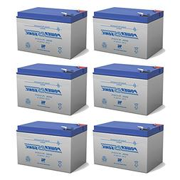 12V 12Ah F2 NEW BATTERY FOR EZIP SCOOTER 750, 900 - 6 Pack