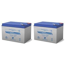 Powersonic 12V 12Ah F2 eZip 750, eZip 900, PB806 SM806 Elect