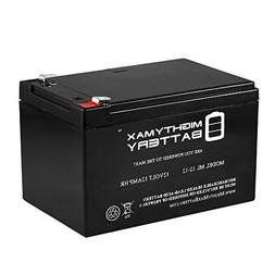 Mighty Max Battery 12V 12AH Replacement Battery for Kid Trax