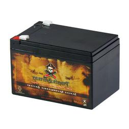 12V 12ah SLA Replacement Battery for Peg Perego Gator HPX To
