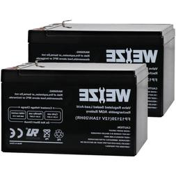 Weize 12V 12Ah UB12120 12 volt 12 Amp-hr Battery for Peg Per