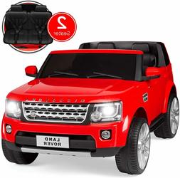 12V 2-Seater Licensed Land Rover Ride On Jeep SUV Car 2 Door
