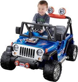 12V 2 SEATS JEEP WRANGLER ELECTRIC KIDS RIDE ON CAR SUV TRUC