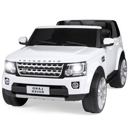 Best Choice Products 12V 3.7 MPH 2-Seater Licensed Land Rove