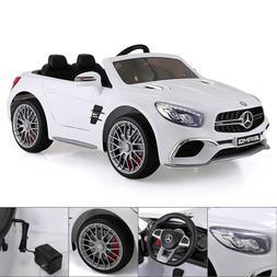 12V Kids Ride On Car Mercedes Benz License MP3 Remote Contro