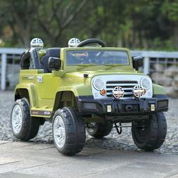 12V Kids Ride on Truck Car Battery Powered Electric Car w/Re