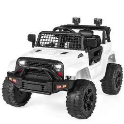 Best Choice Products 12V Kids Ride-On Truck Car w/ Parent Re