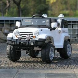 Kids Ride on Truck Car W/Remote Control 12V 2 Speed Battery