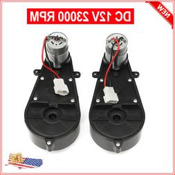 12V Power Wheels Gearbox and Motor for Jeep Ride On Toys 1 P