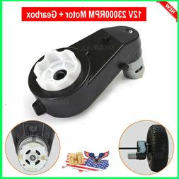 12v power wheels motor with gearbox