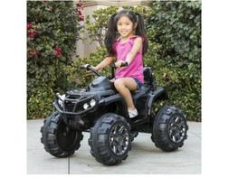 12v Powered Quad 4 Wheeler ATV for Extra Large Kids Reverse