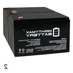 Mighty Max Battery 12V 15AH F2 Replacement Battery for Power