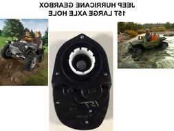 15T LARGE AXLE HOLE POWER WHEELS #7R JEEP HURRICANE GEARBOX