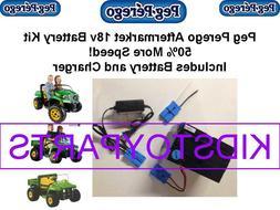 18v KIT for Power Wheels Peg Perego 12V Cars