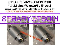18V PAIR FASTER STAGE-4 #7R MOTORS!! FOR 15T 16T and 17T POW