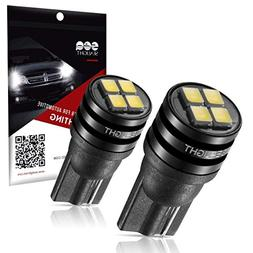 194 LED Bulb, SEALIGHT t10 168 2825 led bulb for Car Dome Ma
