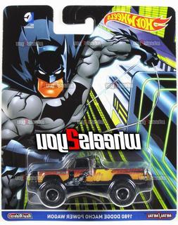 1980 DODGE MACHO POWER WAGON Batman - Hot Wheels Pop Culture