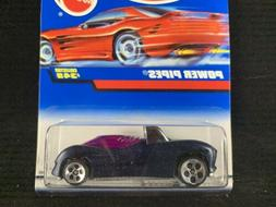 1998 Hot Wheels Power Pipes #349 5 Spoke Brand New Super Rar