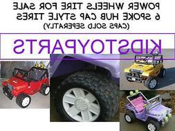 "1x NEW! Power Wheels Jeep 11"" TIRE"