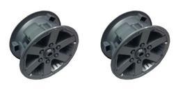 Power Wheels 3800-8224 Rear Hub Caps for Jeep Hurricane Gen