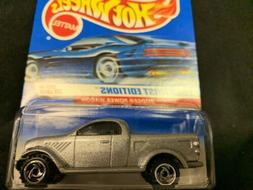 2000 HOT WHEELS FIRST EDITIONS DODGE POWER WAGON SILVER #85