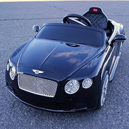 2015 Licensed Bentley Continental Gt Kids/boy/girl Ride on T