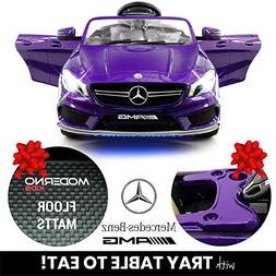 2019 Mercedes Benz CLA 12V Ride On Car for Kids | 12V Engine