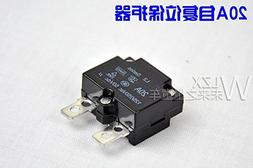 WELLYE 20A Automatic Reset Relay Fuse Therma Switch Circuit