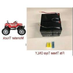 24v Battery Replacement w/  Kit for Rollplay Monster Truck O