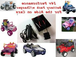 24V Conversion Kit UPGRADE Power Wheels  $20 CASH BACK Optio