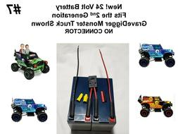 24v Grave Digger Battery ECON VER. #7 for the Power Wheels 2