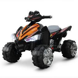 """25"""" Kids Battery ATV Quad 4 Wheeler Ride-On Car with 12V Mot"""