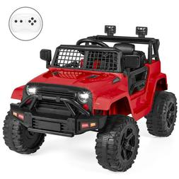 3 Speeds 12V Kids Ride on Car Truck Electric Battery Power W