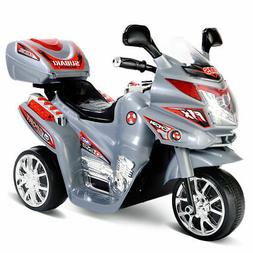 3 Wheel Kids Ride On Motorcycle 6V Battery Powered Electric