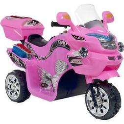 3 Wheel Motorcycle Trike 6 Volts Electric Cars For Kids Ride