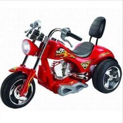 6 MPH Motorcycle 12v Power Kids Chopper Ride On wheels RED,