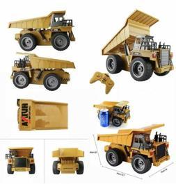 fisca RC Truck 6 Ch 2.4G Alloy Remote Control Dump Truck 4 W