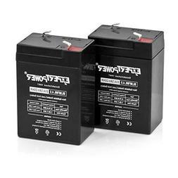 Expertpower Expertpower 6 Volt 4.5 Amp Rechargeable Battery