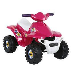Rollplay 6-Volt Battery Powered Toddler Kids Mini Quad Ride-
