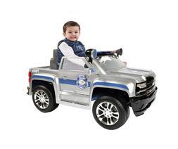 6 volt chevy silverado police truck ride