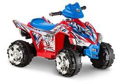 Kid Trax 670Z ATV 6V Quad Ride On, Red