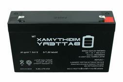 6V Battery for Kids Ride On Car, 6 Volt Battery for Power Wh