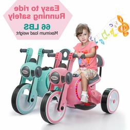 Electric Motorcycle Kids Ride On 6V Battery Powered 3-Wheel